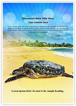 Turtle Beach Editable Word Template