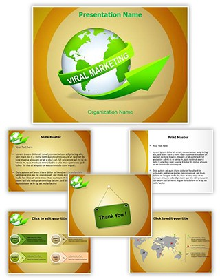 Viral Marketing Editable PowerPoint Template