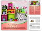 Home Decoration Editable Word Template