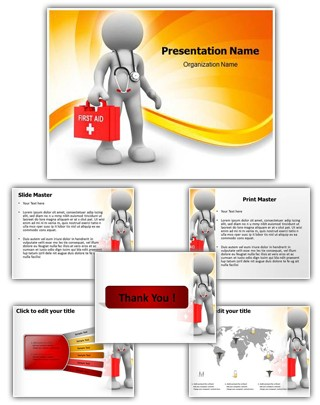 3D Doctor Editable PowerPoint Template