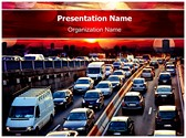 Evening Car Traffic Template