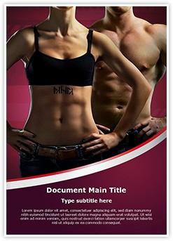 Bodybuilding Editable Word Template