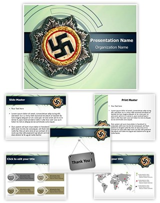 Nazi Editable PowerPoint Template