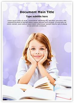 Learning Education School Editable Word Template