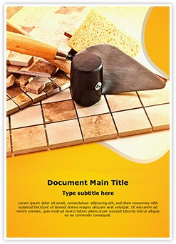 Ceramics Editable Word Template