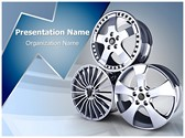 Wheel Alloy Editable PowerPoint Template