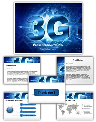 3G Technology Editable PowerPoint Template