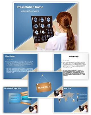 X ray Computed Tomography Editable PowerPoint Template