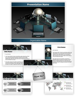 Data mining architecture ppt template