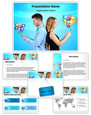 Generation Y Editable PowerPoint Template
