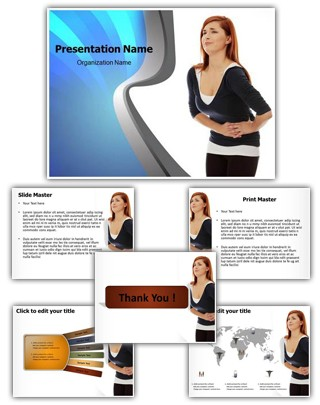 Abdominal Pain Editable PowerPoint Template