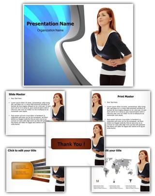 Abdominal Pain Editable PowerPoint Template