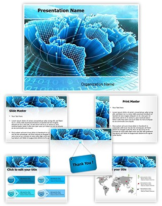 Information Technology Editable PowerPoint Template