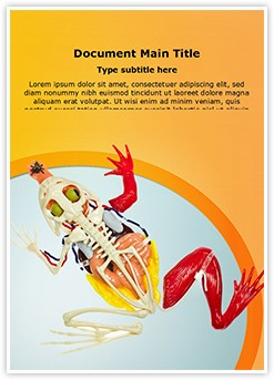 Animal Digestive System Editable Word Template