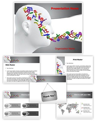 Communication Skills Editable PowerPoint Template