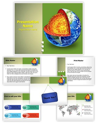 Earth Mantle Editable PowerPoint Template