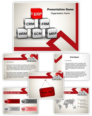 ERP Editable PowerPoint Template