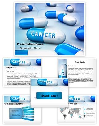 Cancer Treatment Medicine Editable PowerPoint Template