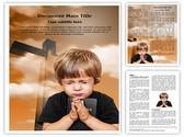 Praying Editable Word Template