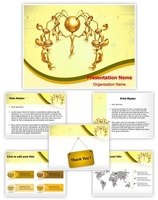 Brain Drain Editable PowerPoint Template