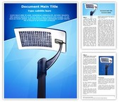 Solar Panel Light Template