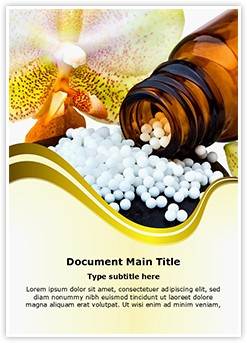 Homeopathy Editable Word Template
