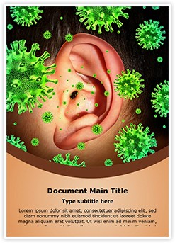 Otitis Media Editable Word Template