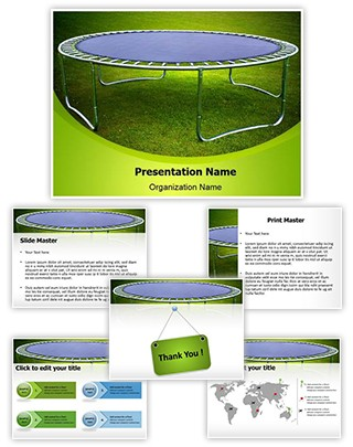 Trampoline Editable PowerPoint Template