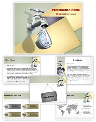 Wasting Time Editable PowerPoint Template
