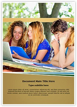 Technology and University Editable Word Template
