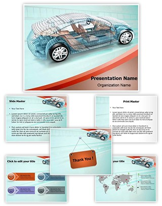 Car Designing Editable PowerPoint Template