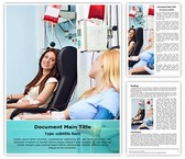 Donate Blood Transfusion Template