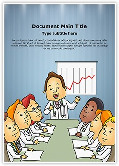 Medical Professionals Board Meeting Editable Word Template