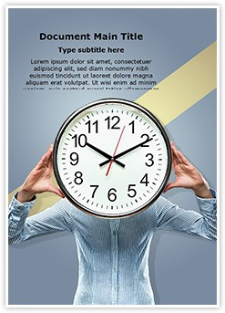 Time Pressure Editable Word Template