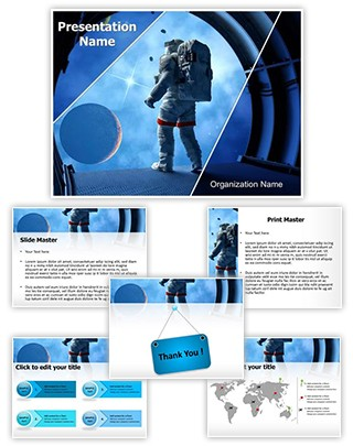 NASA Editable PowerPoint Template