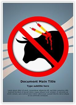 Animal Abuse Editable Word Template