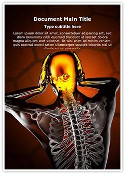Trauma Radiography Scan Editable Word Template