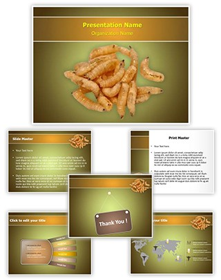 Larva Editable PowerPoint Template