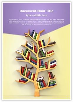 Tree of Education Editable Word Template