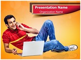 Generation Y Concept Editable PowerPoint Template