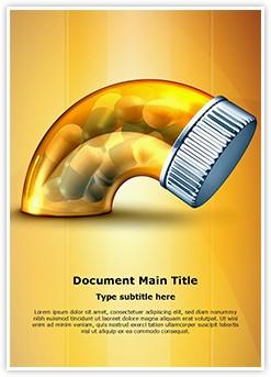 Erectile Dysfunction Medicine Editable Word Template