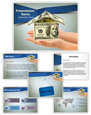 Home Loan Editable PowerPoint Template