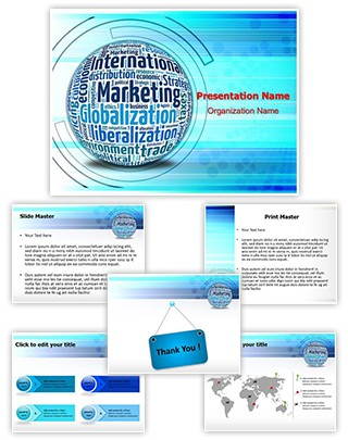 International Marketing Concept Editable PowerPoint Template