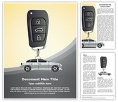 Center Lock Car Security Template
