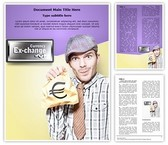 Foreign Currency Exchange Editable Word Template