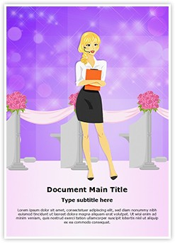 Event Wedding Planner Editable Word Template