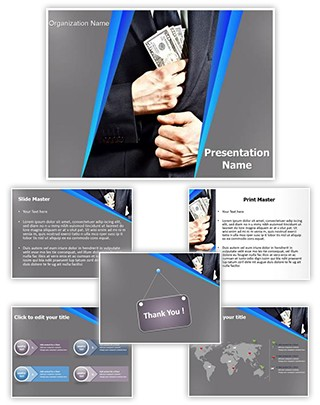 Bribe Money Editable PowerPoint Template
