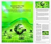 Global Computer Network Template