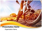 Cyclist PowerPoint Templates