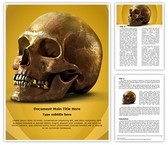 Anatomy Human Skull Template